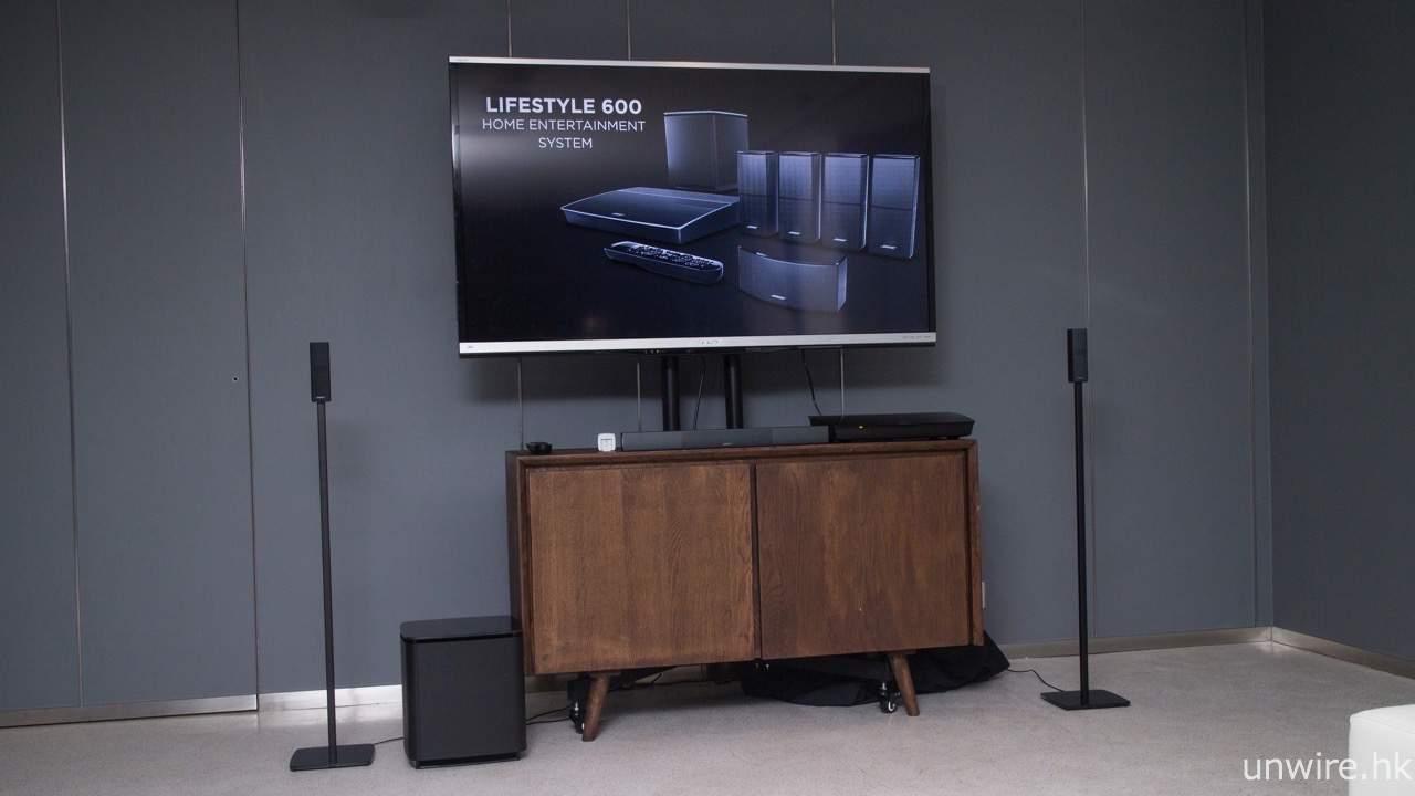 Bose Audio >> 前後置更的骰 超低音爽快震撼 Bose LifeStyle 650 艾域初評 | 香港 UNWIRE.HK 玩生活.樂科技