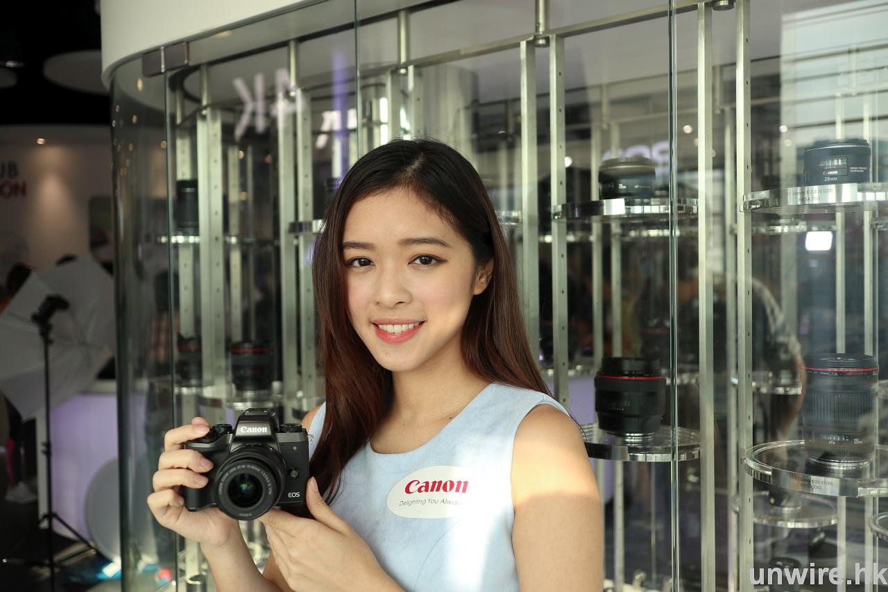 Canon EOS M5 初步評測 辛尼:機身細手感好