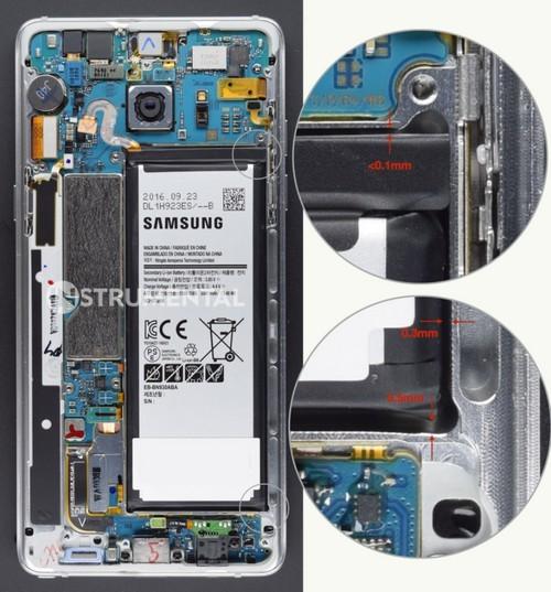 除電池頂部沒有預留空間外,其他方向的空位亦極度狹窄