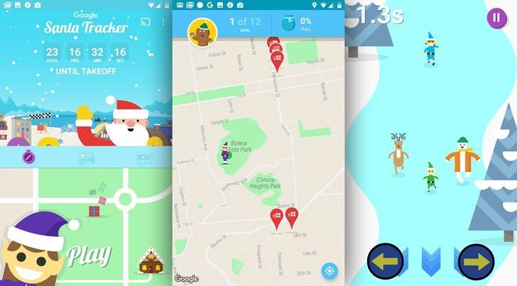 加入 AR 遊戲!Google 聖誕老人追蹤器登場