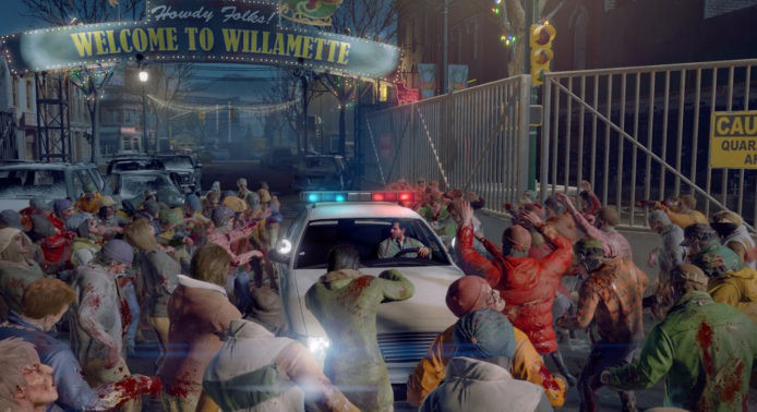 Dead Rising 4 Willamette Cop Car