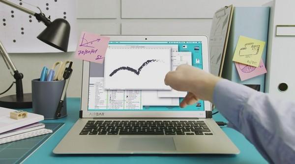【有片睇】無中生有!加條 AirBar 即可令 MacBook 熒幕變成輕觸式