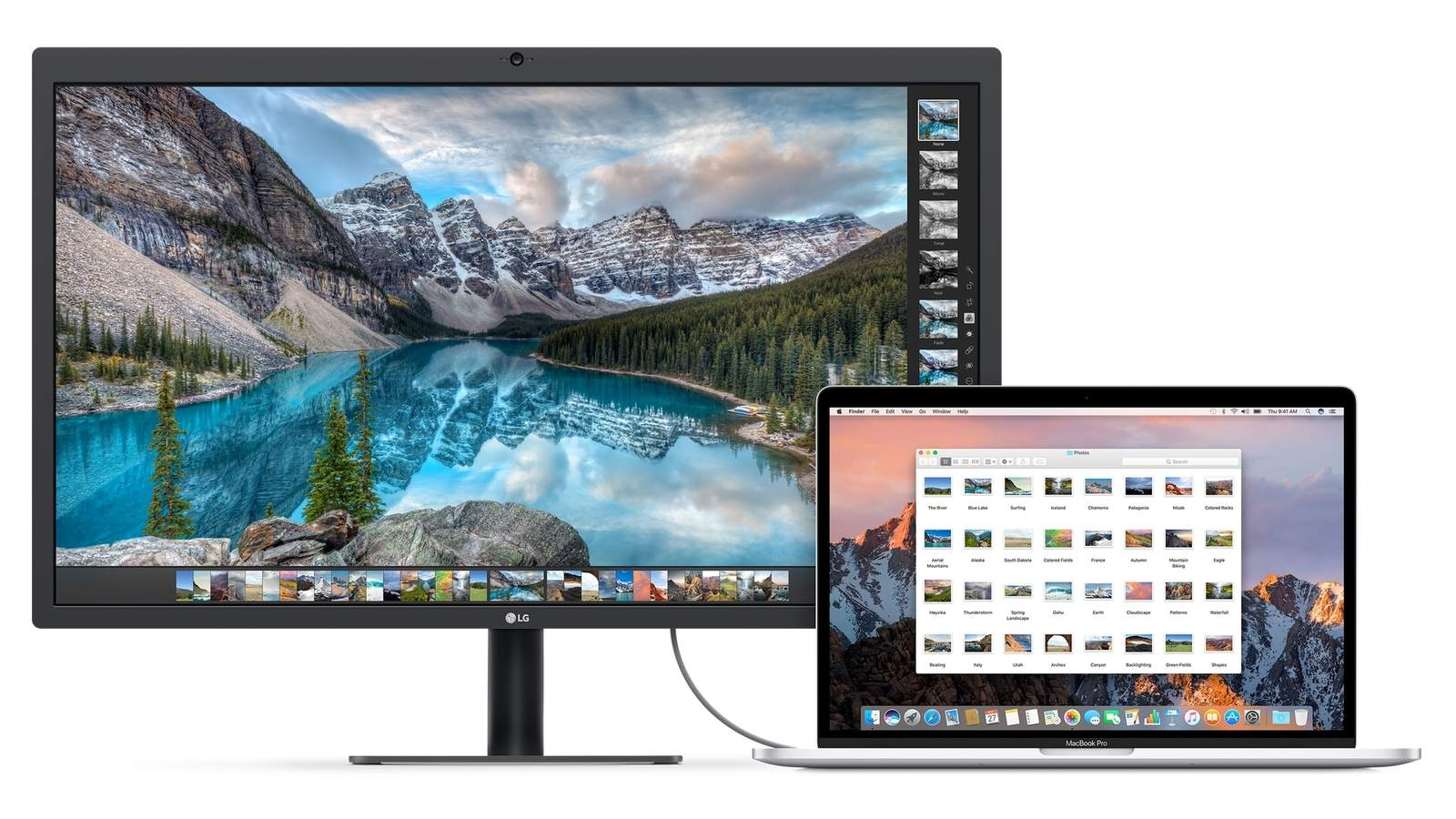 LG 承認 UltraFine 5K 螢幕出現問題,提供解決方案