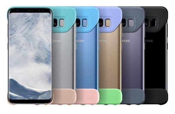Galaxy S8 專用手機殼 2Piece Cover 惹來熱話