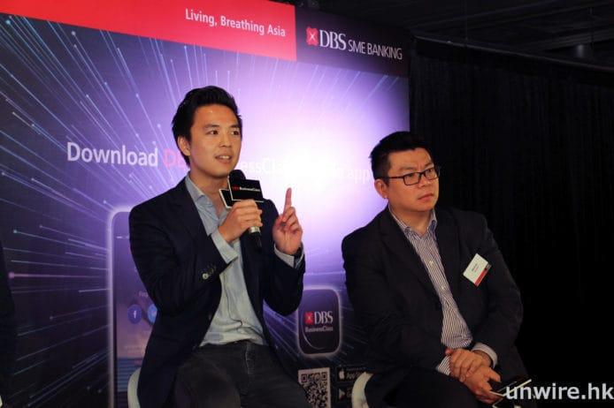 First Code Academy 共同創辦人及營運總監張介源 (Kevon Cheung) (左)表示,隨著科技發展,編程語言變得越來越重要,但不少人均覺得學習編程會很困難,因此 First Code Academy 決定從青少年著手,提供 5 至 18 歲的編程教學課程,讓青少年能從基礎開始逐步學懂編程。