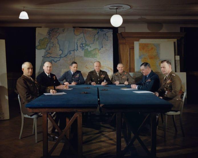 70 年來首次曝光, 多張罕有 WWII 二戰彩色照片