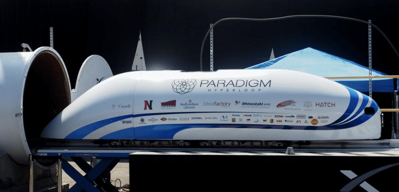 Hyperloop模型列車設計比賽 最高時速達324公里