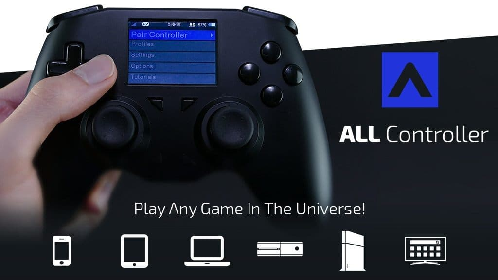 ALL Controller 通用無線手掣 支援PS4+Switch+Xbox+PC+iOS 及 Android 平台