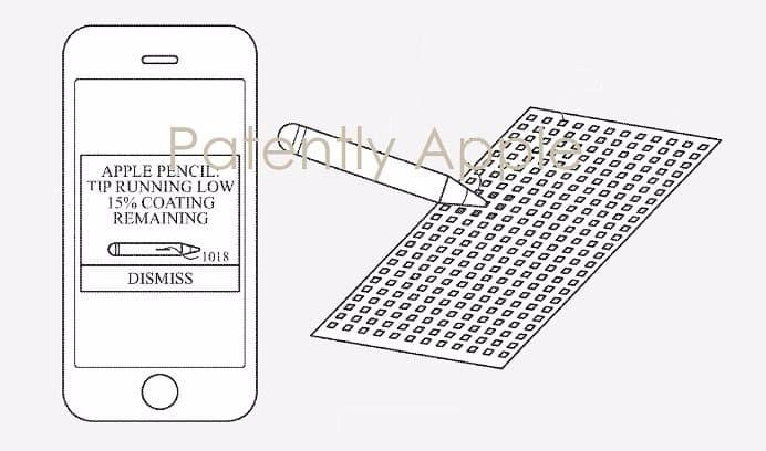Apple Pencil 新專利 將會用於 iPhone 上
