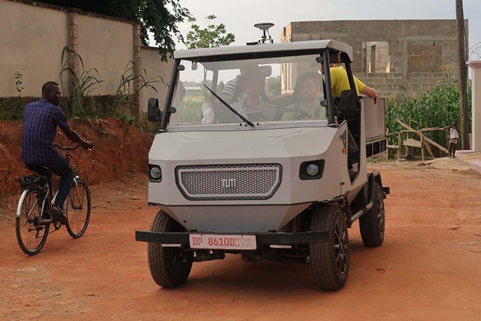 其實唔貴!大學非洲測試實用電動車