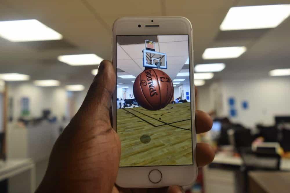 NBA 推出首款 iOS 11 AR 游戏