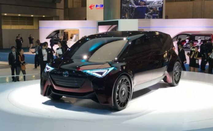 Toyota 概念車 Concept 愛i Ride+Fine Comfort Ride 日本車展登場 | 香港 ...