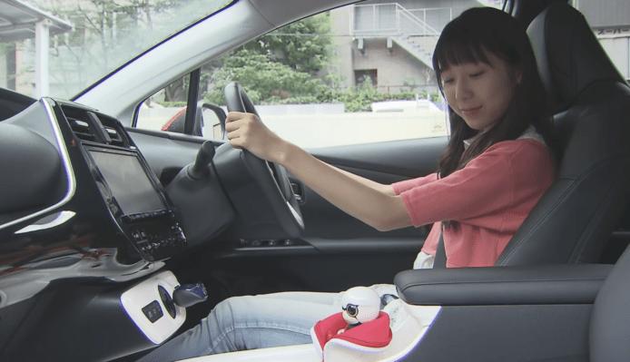 豐田語音機械人 KIROBO mini 正式發售 可問它汽車油量剩多少