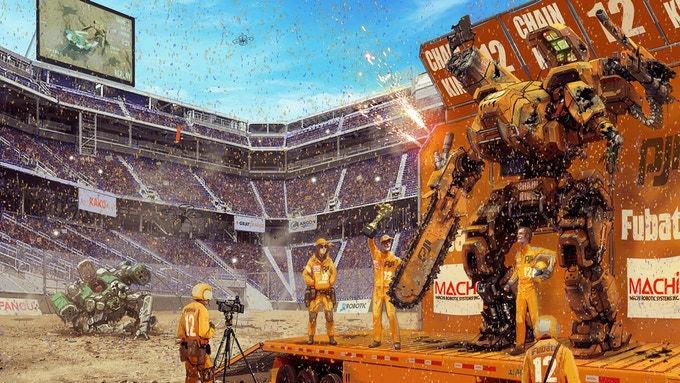 Megabots 新機械人大戰叫好不叫座 眾籌低開
