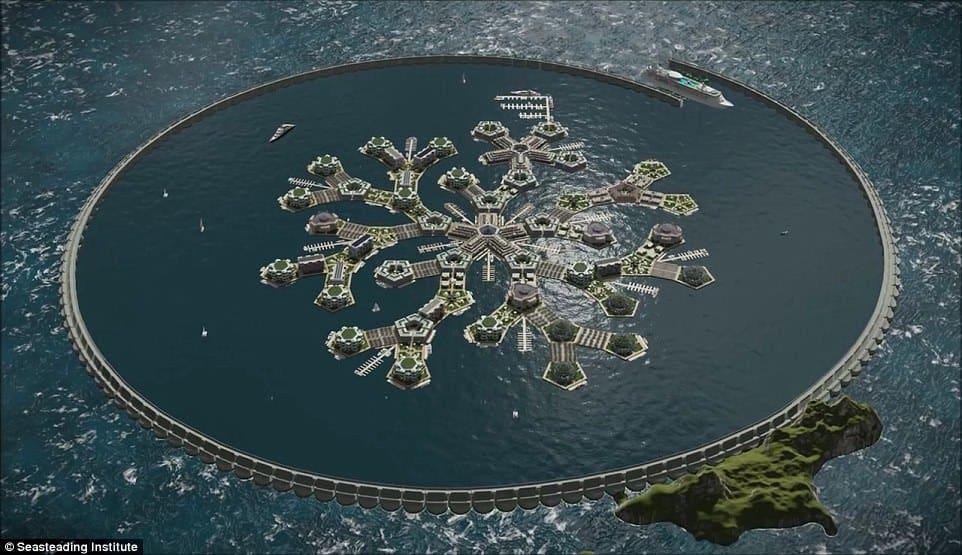 全球第一「漂浮城市」2020 太平洋立國