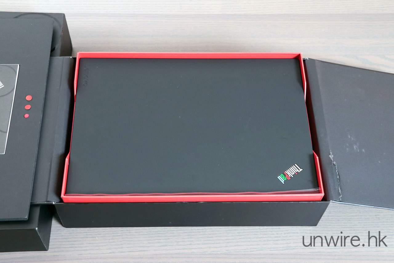 評測】Lenovo ThinkPad 25 週年限定版開箱半復古設計+鍵盤手感