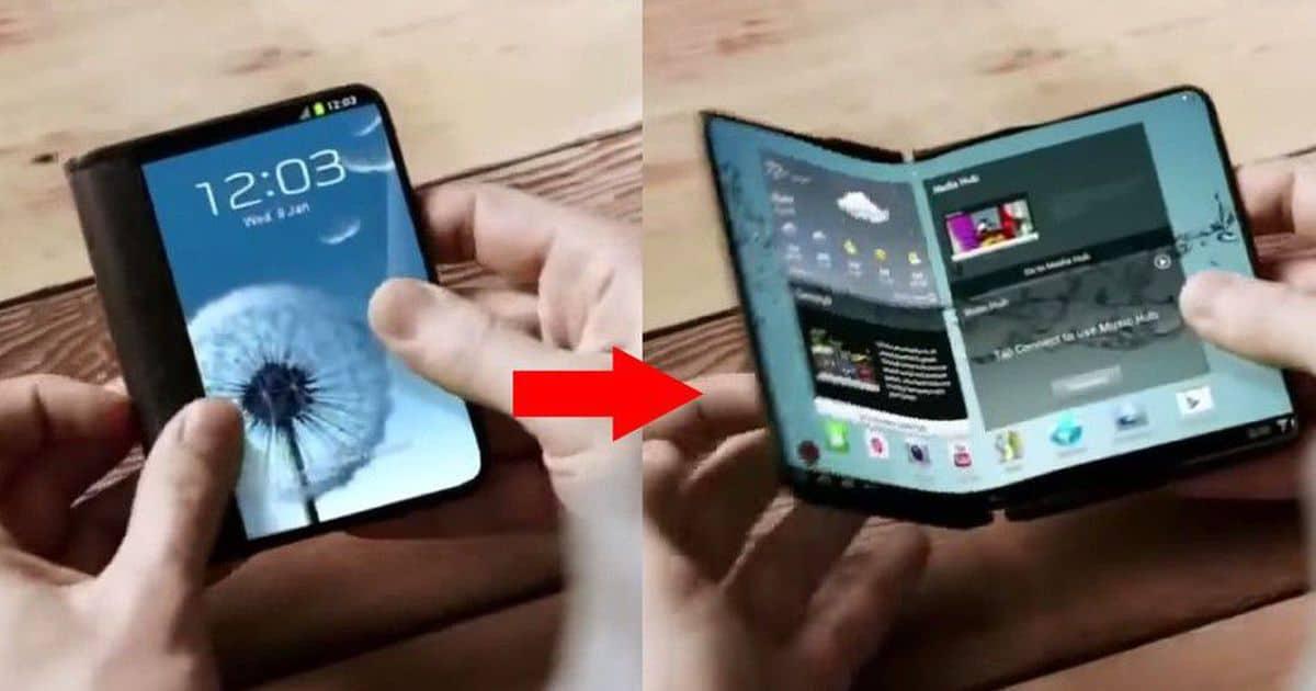 Samsung 摺合式手機年底量產