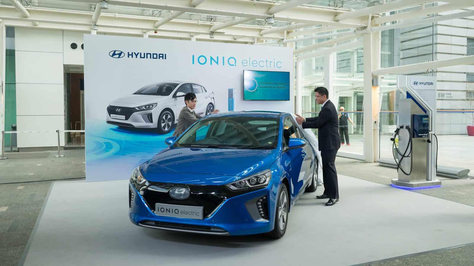 【報價】Hyundai IONIQ Electric 電動車香港售價 最高效電動車 + 安全煞車系統