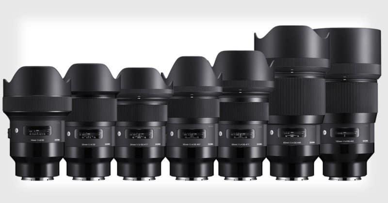 Sigma 推出 Sony E-mount 接環 Art 鏡頭 首批 9 款鏡頭全曝光