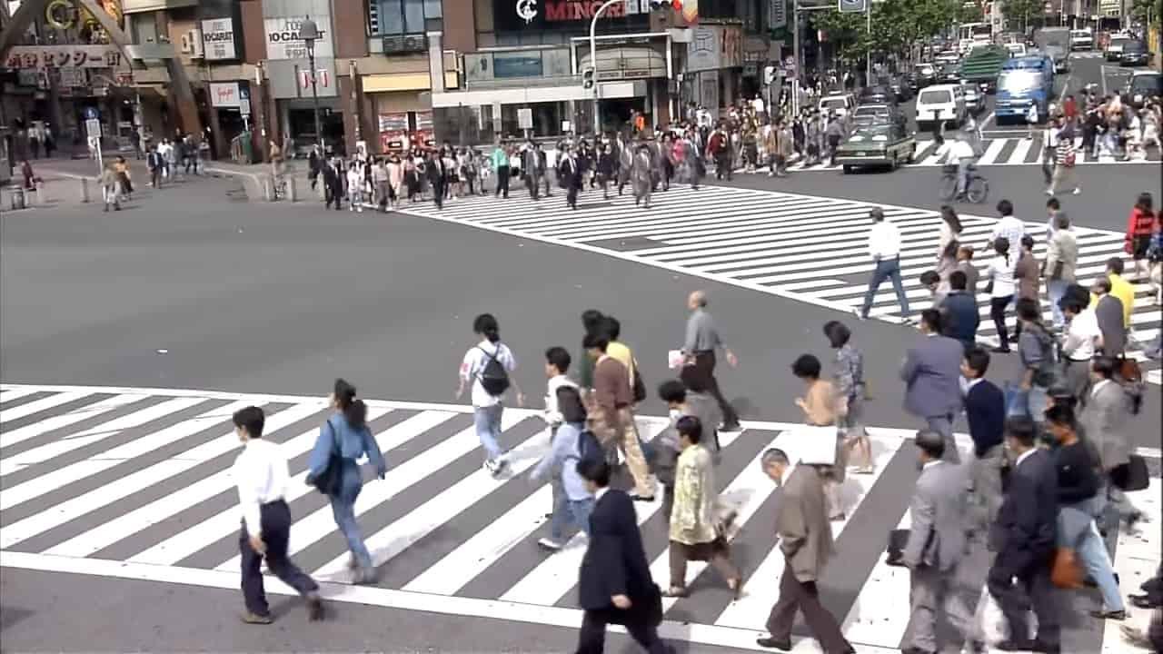 實驗 1080p 高清片段 讓網民回味四分一世紀前的東京