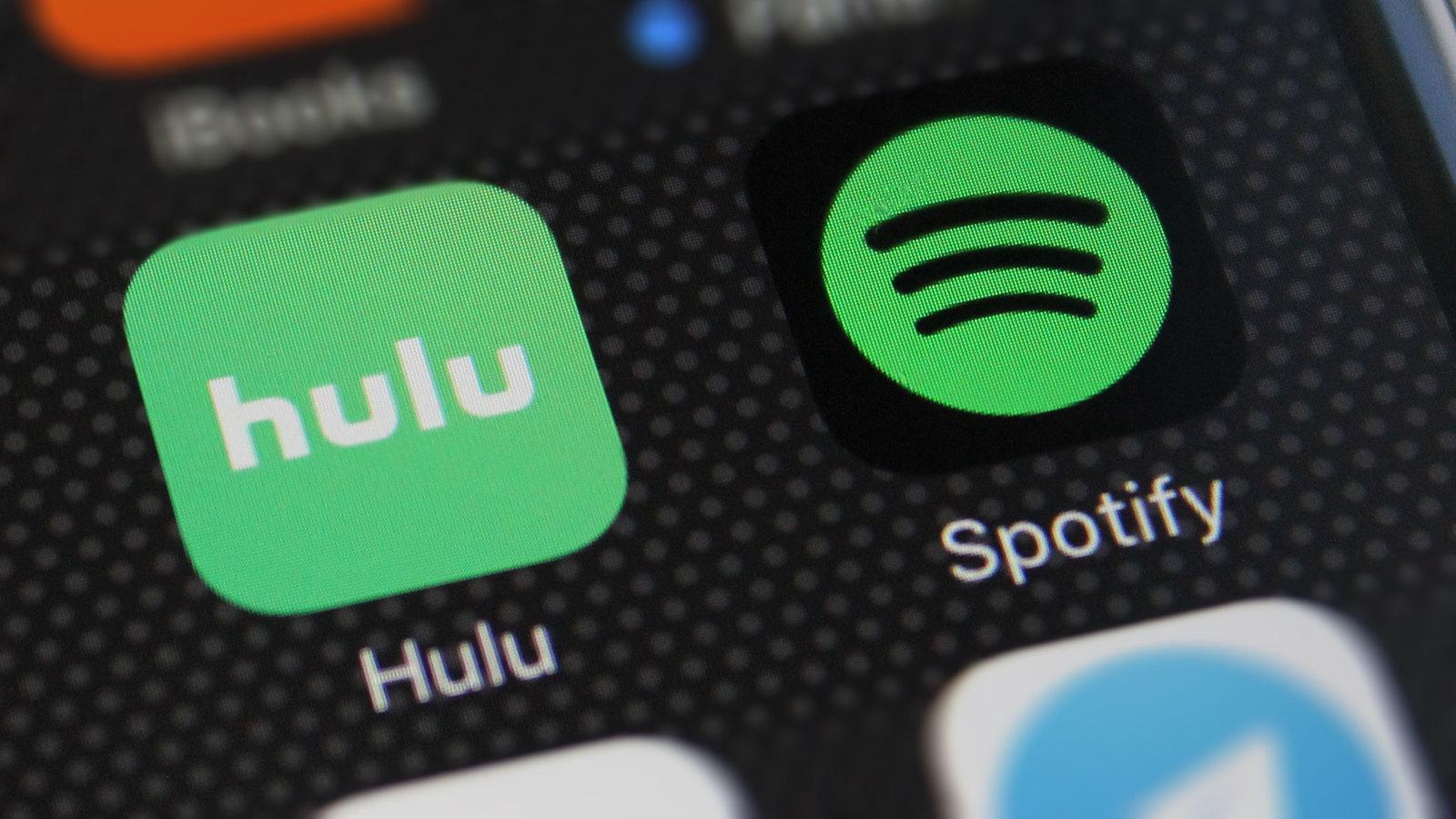 Spotify + Hulu 組合包推出 102 元暢遊兩大平台