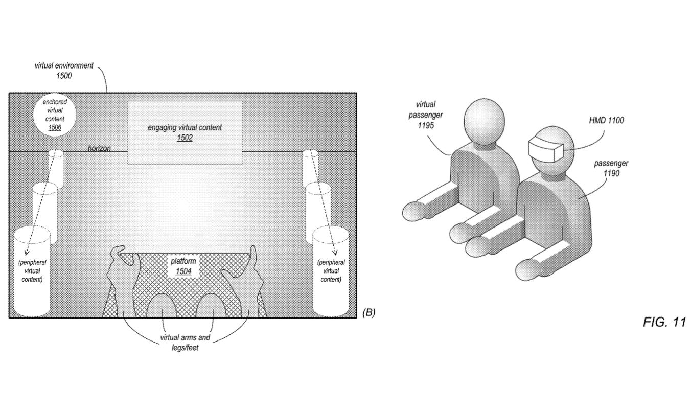 Apple新专利透过VR系统预防晕车