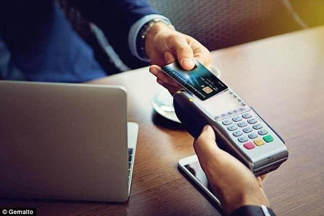 荷蘭銀行卡信用卡指紋辨識新科技刷卡