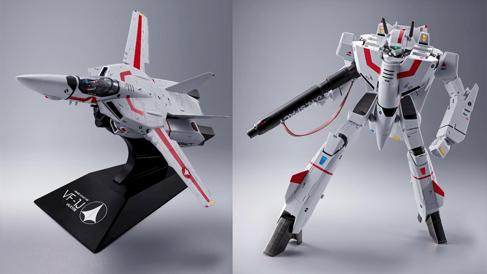【有片睇】DX 超合金 VF-1J Valkyrie 27cm超大隻+完全變形