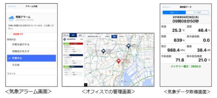 日本降雨事前感应系统 协助地盘分配人力资源 Weather News同KDDI合作推出