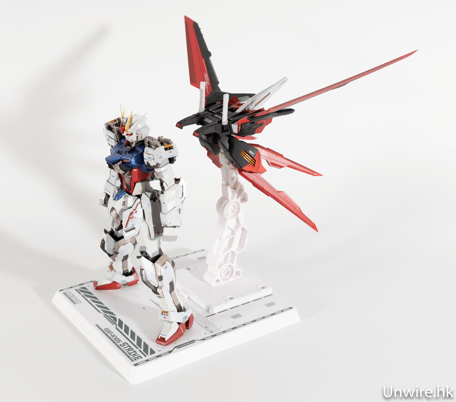 【評測】Metal Build 突擊高達 造型超靚+金屬量高