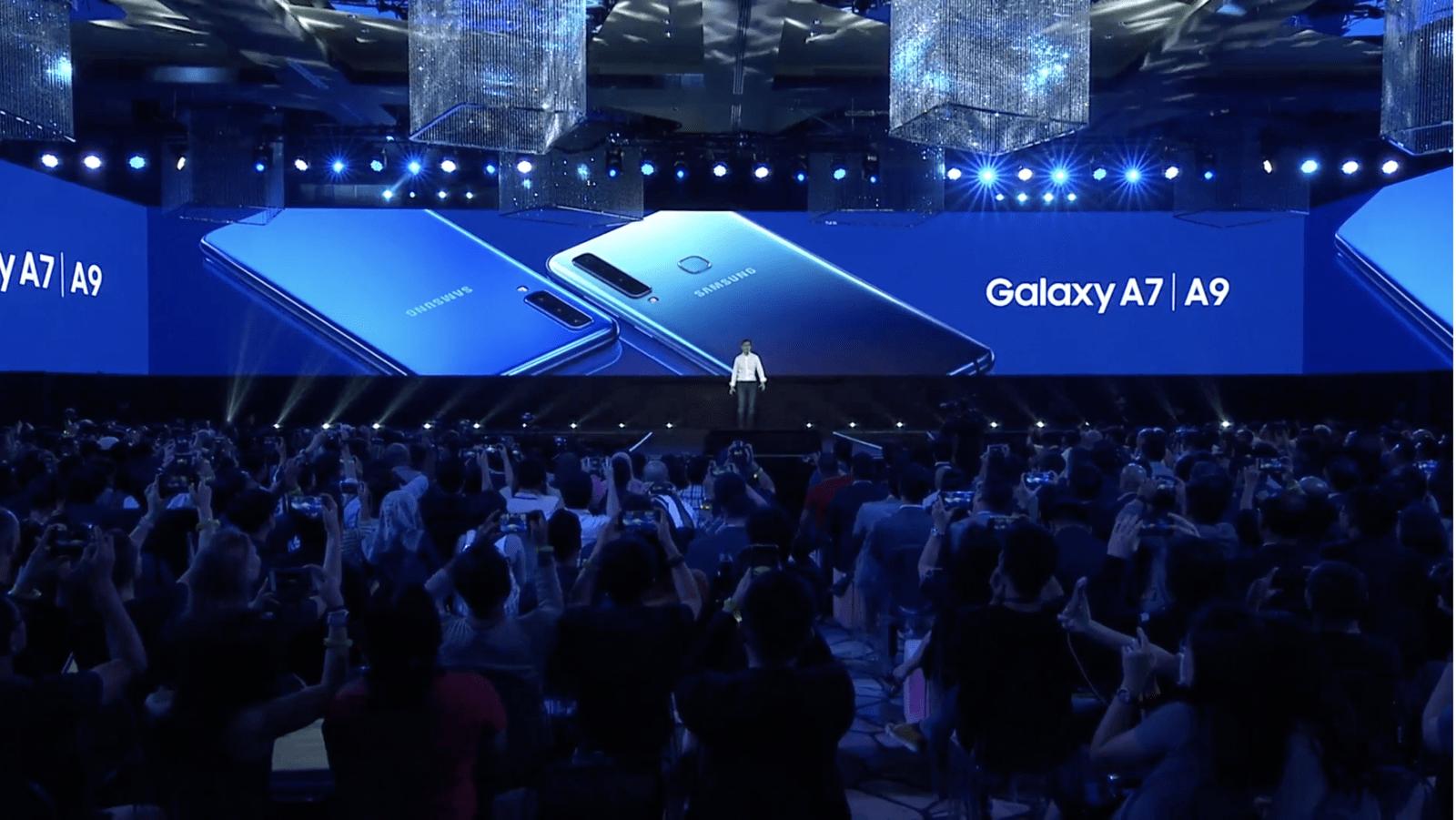 【Samsung A9 2018】三星 Galaxy A9 新版 後置四鏡頭 + 超廣角