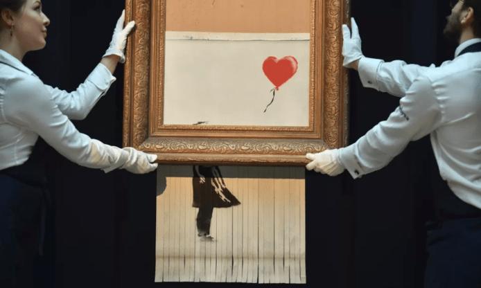 【有片睇】Banksy 上載 Director Cuts 影片公開「碎畫」過程 原計畫全毀畫作?