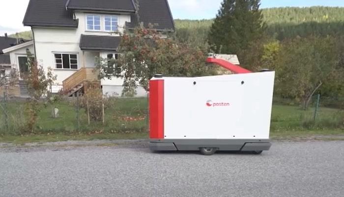 挪威郵政測試派遞機械人 多功能兼減低成本