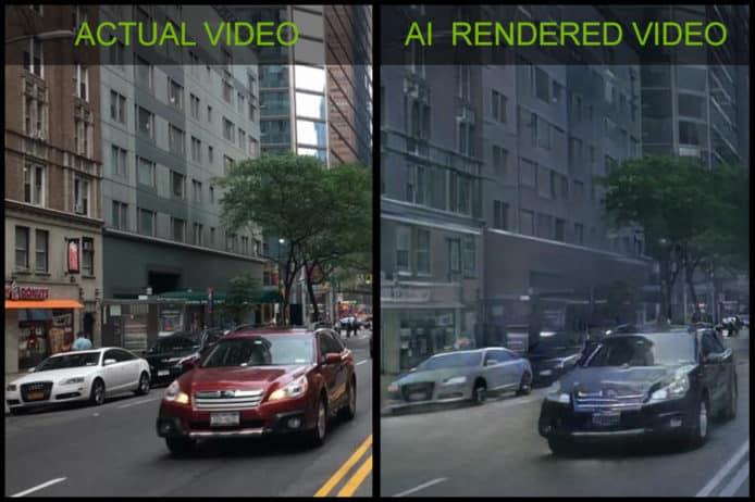 【有片睇】Nvidia 用 AI 打造虛擬世界 模擬真實世界互動環境