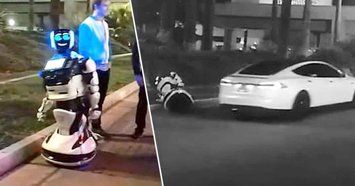 罕見交通意外 Tesla「撞死」CES 參展機械人