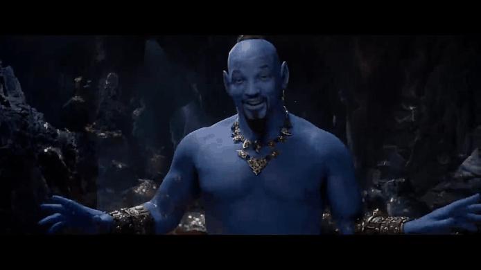 【有片睇】真人電影版《阿拉丁》 燈神韋史密夫全藍造型曝光