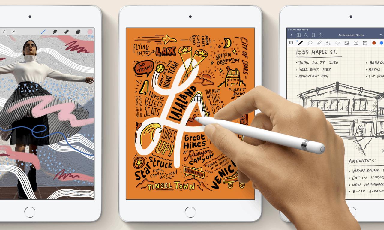 iPad Air + iPad mini 2019 for sale Hong Kong price + processor A12