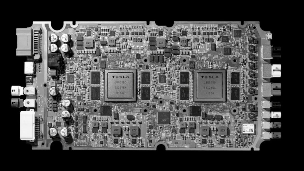 特斯拉 公布全自动驾驶芯片 将用於 Model S、Model X 及 Model 3