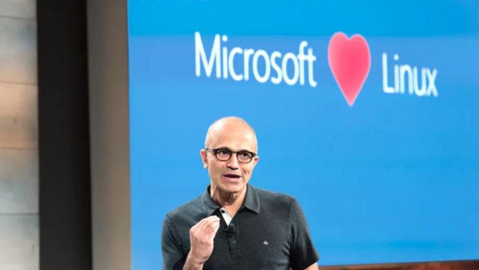 Microsoft 近年與開源系統 Linux 愈走愈近。