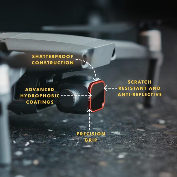 厂商集资推出无人机专用变形镜头