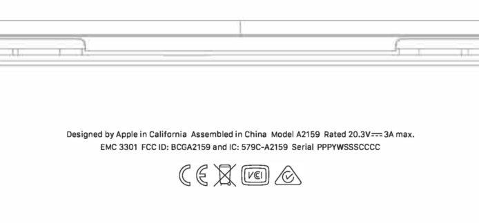 苹果新 MacBook Pro 通过 FCC 认证 或是入门版更新
