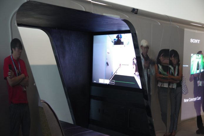 Sony与Yamaha推出无人车 4K电视当车窗 + 远端驾驶