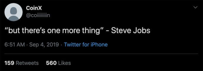 着名爆料人指 苹果 发布会 将再次出现「One more thing」新产品