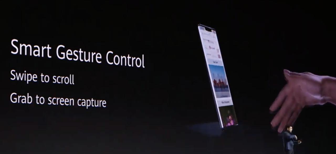 华为 EMUI 10 全新接口 支持 AI 隔空操作