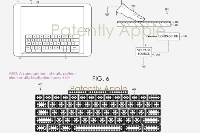 苹果研发真实触感虚拟键盘 未来或应用于 iPad 之上