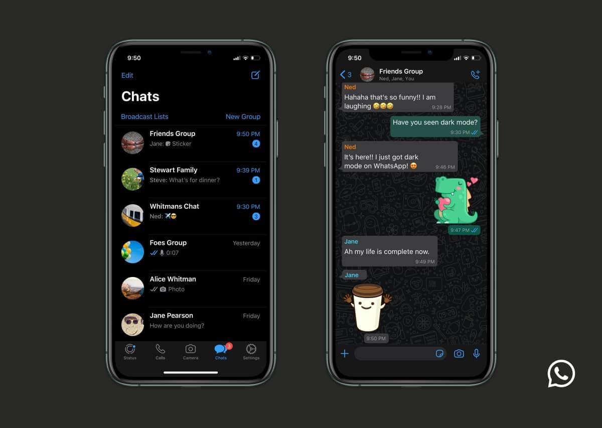 Dark Mode Whatsapp Iphone